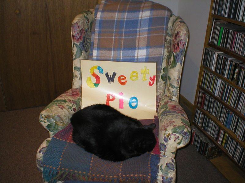 Sweetie-Pie Sign