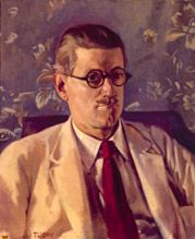 James joyce by Patrick Tuohy