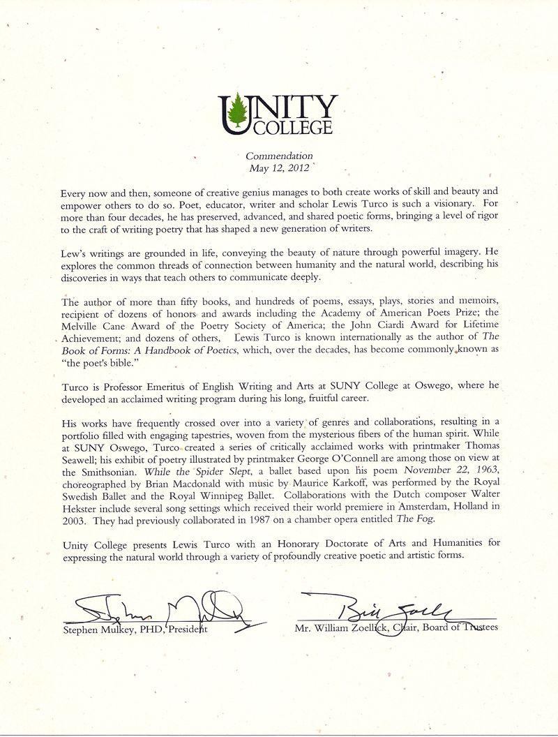 Unity College 2