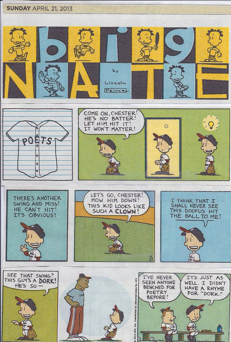 Big Nate Comic