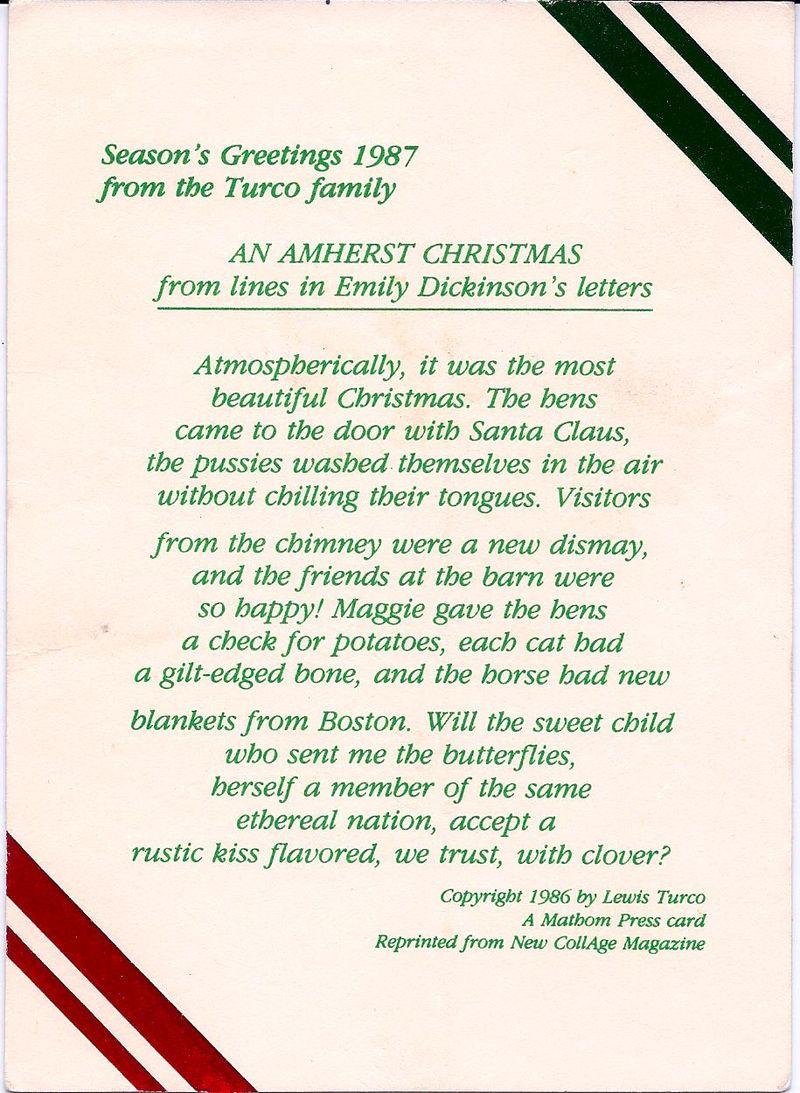 Amherst Christmas