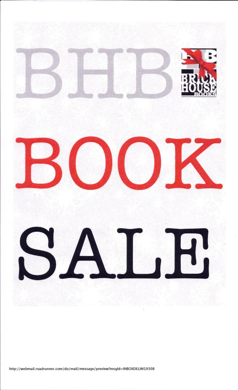 BHB Book Sale