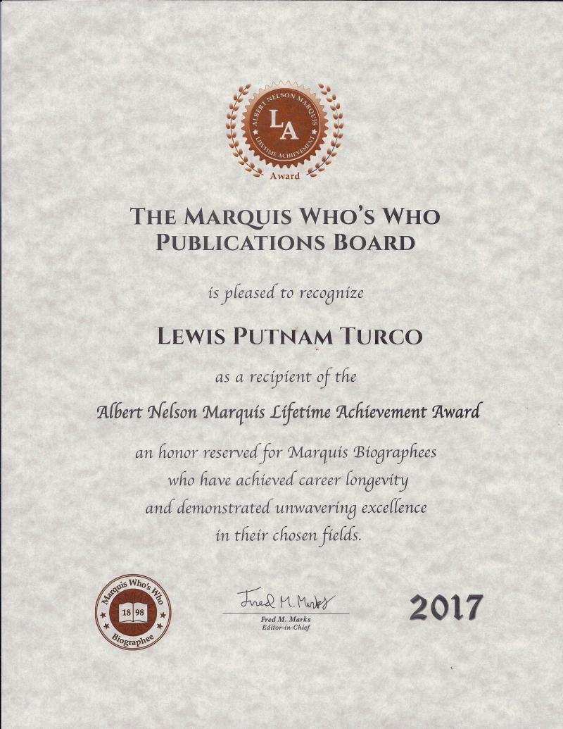 Marquis Award