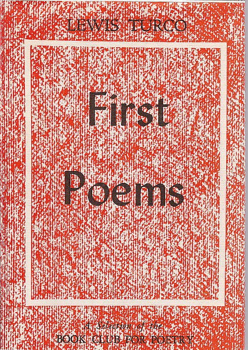 First Poems 1